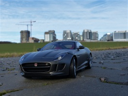 Jaguar F-Type - R coupe.